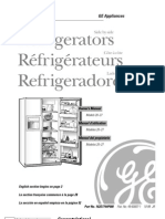 GE Model 20-27 Refrigerators