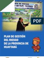 PLAN DE GESTIÓN DEL RIESGO DE LA PROVINCIA DE HUAYTARÁ