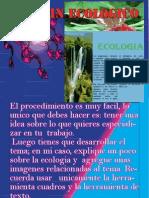 Explicacion de Boletin Ecologico