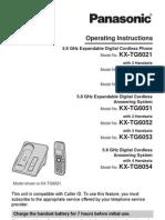 Panasonic KXTG6021