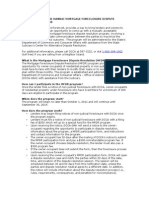 Understanding the Hawaii Mortgage Foreclosure Dispute Resolution
