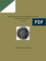 FONTES PARA O ESTUDO DA HISTÓRIA DA ARTE NO DISTRITO DE PORTALEGRE - CONCELHO DE ALTER