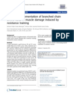 Bcaa Muscle Damage Induced Resistance Training