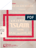 Koreksi Prof. Dr. H.M. Rasyidi Terhadap Prof. Dr. Harun Nasution Dalam Uraiannya Ajaran Islam Tentang Akal Dan Akhlak