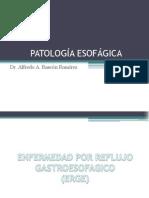 PATOLOGÍA ESOFÁGICA