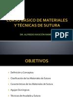Curso de Materiales y Tecnicas de Sutura