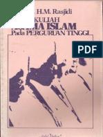 Empat Kuliah Agama Islam Pada Perguruan Tinggi