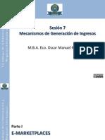 Mecanismos de Generación de Ingresos