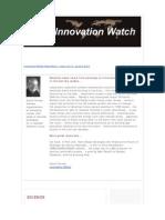 Innovation Watch Newsletter 10.12 - June 4, 2011