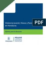 Informe de Violencia Juvenil Honduras