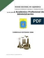 CURRICULO - ADMINISTRACION 2006