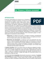 Protocolo de Tetanos y Tetanos Neonatal