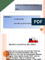 ppt LA MÉTRICA - HIMNO NACIONAL DE CHILE