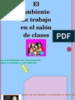 ACTIVIDAD 2 El Ambiente de Trabajo en El Salon de Clases