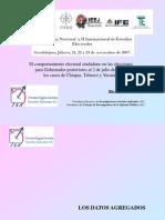Elecciones posteriores a la federal 2006