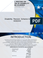 Regional Meeting on Disability Pension in Kosovo