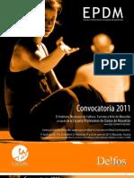 Solicitud EPDM Convocatoria 2011