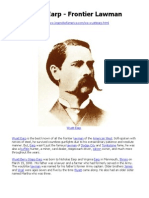 Wyatt Earp - Weiser
