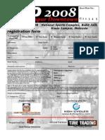 KLD Registration Form