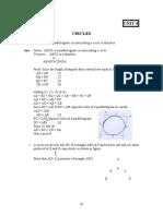 Chapter 9 (Circles)