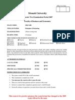 MKC1200 Sem2 2007 Exam