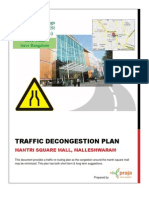 Mantri Mall Traffic Decongestion Plan - Initial Draft