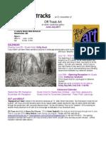 Off Track Art E-newsletter for June-July 2011