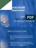 Dissolution Apparatus