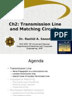 W2&W3. Ch2.0 Transmission Line Theory v0.2