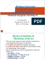 Medical Surgical Nursing:Eye Disorder.