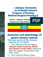 Medical Surgical Nursing:Geniro Urinary Tract Disorder.
