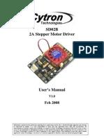 Users Manual Sd02b
