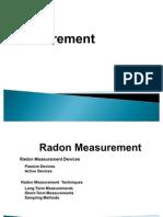 Radon Ölçüm Teknikleri
