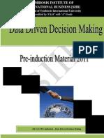 Module2_Data Driven Decision Making