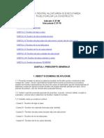 C. 37-88 NORMATIV PENTRU ALCATUIREA SI EXECUTAREA ÎNVELITORI