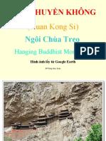 HuyenKhongTu:Hanging Temple:วัดแขวนบนภูเขาในจีน