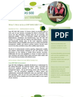 Sage ERP MAS 500 7.4 New Features