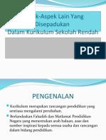 Topik 8 Kurikulum Dan Pengajaran Sekolah Rendah[1]