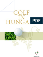 Golf in Hungary
