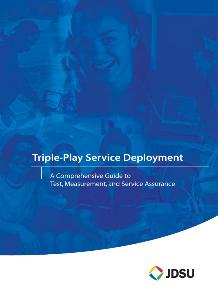 Triple Play Service Deployment Fiber To The X Computer Network Wall Phone Jack Wiring Diagram Likewise Eia Tia 568 C