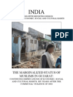 Economic, Social and Cultural Effects on Gujarat Muslims - Dr.sheakeel Ahmed