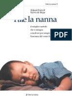 Estivill Eduard - de Béjar Sylvia - Fate la Nanna