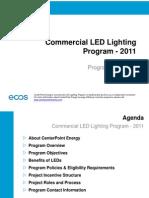 Center Point LED 2011 Program Presentation