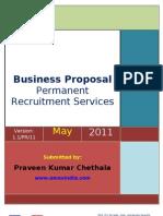 Emex Proposal - Permanent Recruitment Services 23-05-2011