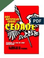 Dos artículos sobre CEDADE