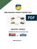 BRM Report