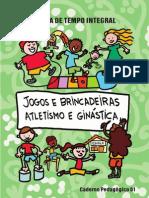 Livro de Jogos e Brincadeiras Atletismo e Ginastic