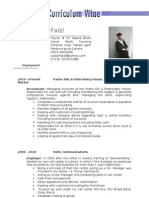 Zubair's CV