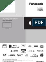 Panasonic TX-l37d25b Manual User Guide (Tqb0e0929) Mar 10