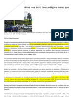 Pedágios Modelo Paulista vs Federal
